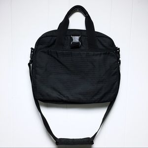 ARMANI EXCHANGE A|X Men's Black Messenger Bag